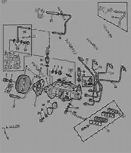 Fuel Injection Pump  01c12  -  U62d6 U62c9 U673a John Deere 2120 - Tractor