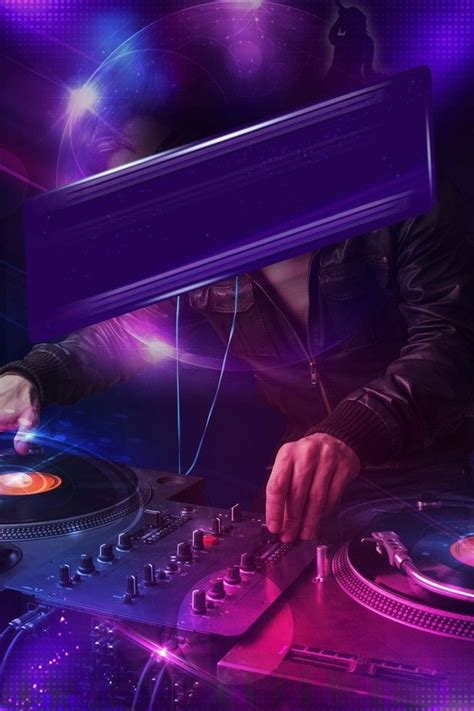 purple cool  vibrant bar party background material