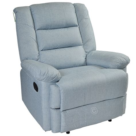 Recliner Armchair Fabric by Manual Leather Recliner Armchair Fabric Chair Furniture