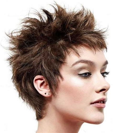 short spiky haircuts hairstyles  women  page