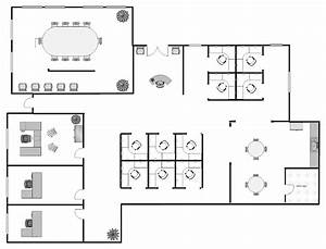 visio office floor plan template visio office floor plan With conceptdraw pro compatibility with ms visio