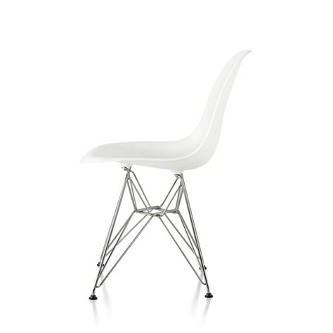 eames plastic molded chairs simple xhome set of white