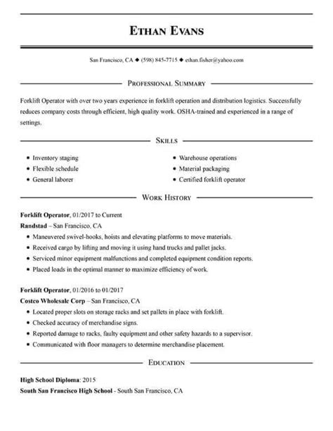 Simple Resume by Get The With A Simple Resume Guide My Resume