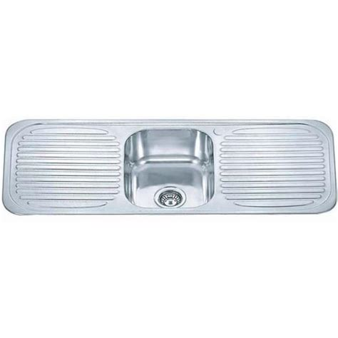 evier encastrable inox 1 bac 2 233 gouttoirs c01 achat vente evier de cuisine evier encastrable