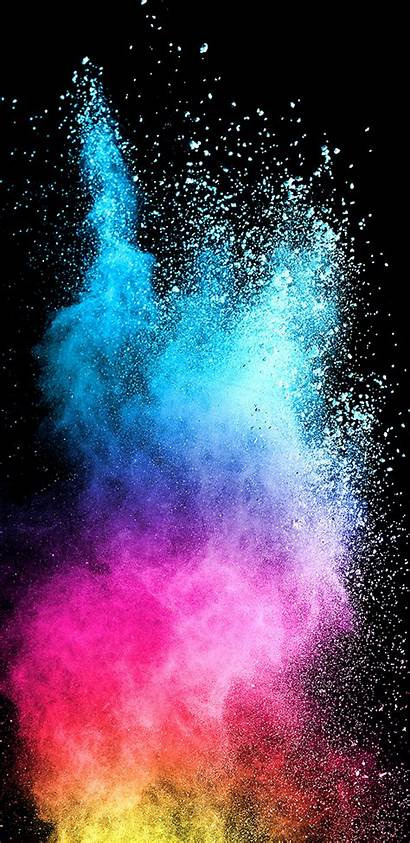 Galaxy Samsung Dark Colorful Background S9 Abstract