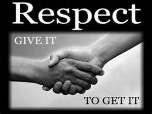 Respect Respect Definition