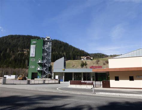 Ghiaia Di Colfosco Spa - abbruch und wiederaufbau des sand und schotterwerkes und