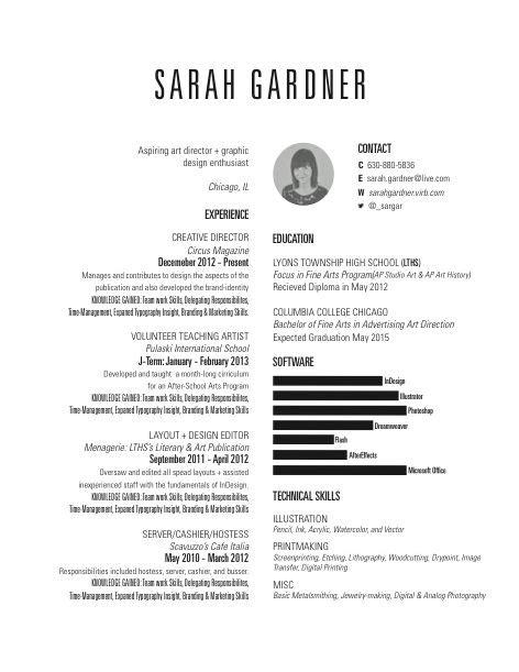14293 resume graphic design student 30 best cv curriculum vitae images on resume
