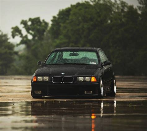 The Truly Definition Of Stance. Bmw E36 Coupe.