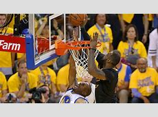 Top NBA Finals moments LeBron James' chasedown block in