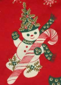 1950s vintage christmas tree skirt red by carnabyvintagejewels
