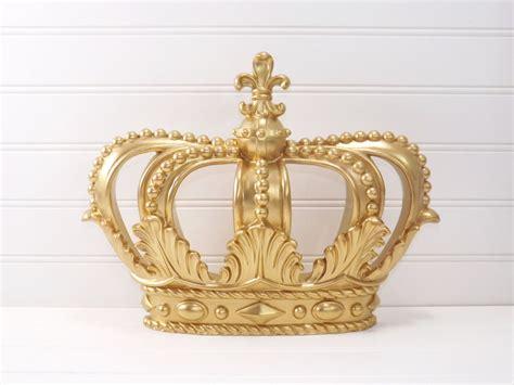 gold princess crown gold crown crown wall decor little