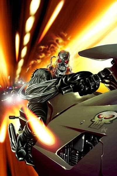 ghost rider  character comic vine
