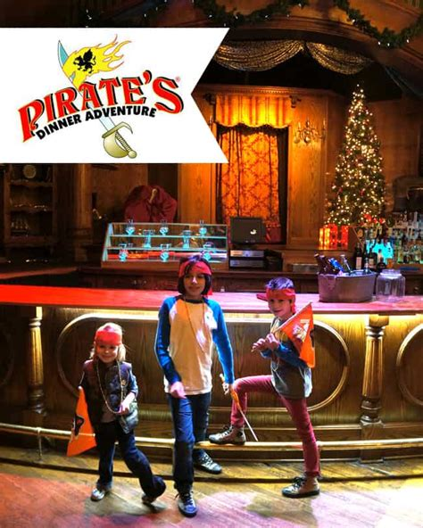"""Visit pirates dinner adventure, buena park for night life activities. Pirate's Dinner Adventure """"Pirate's Take Christmas ..."""