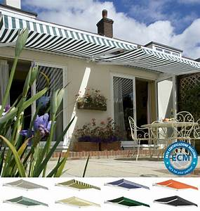 Primrose Patio Awning Manual Garden Canopy Sun Shade