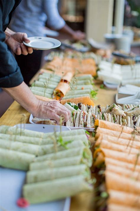 tasty wraps   light lunch catering package