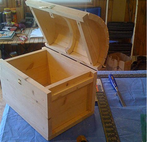 woodwork small treasure box plans  plans