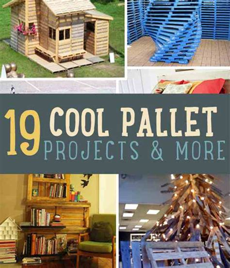 cool diy home projects 19 cool pallet projects Cool Diy Home Projects