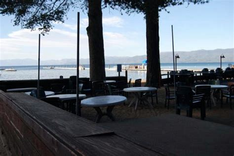 outdoor patio at the beacon grill c richardson lake