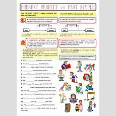 Past Simple Or Present Perfect?  Interactive Worksheet
