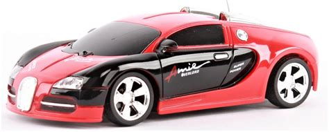 The brand that combines an artistic approach with superior technical innovations in the world of super sports cars. Bugatti Veyron 1:24 Red Black Style RCskladem