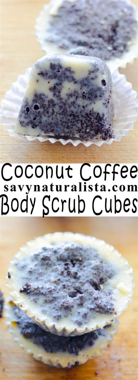 You may be surprised at some of the uses. Body scrub cubes that use coffee grounds; a great way to scrub the body and add moisture ...