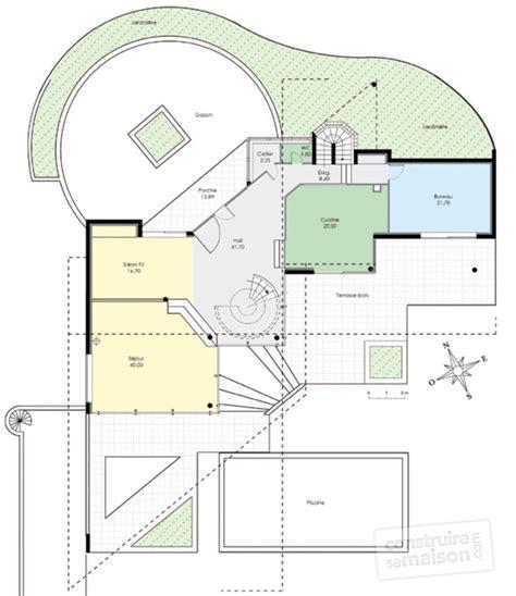 plan de maison d architecte gratuit maison moderne