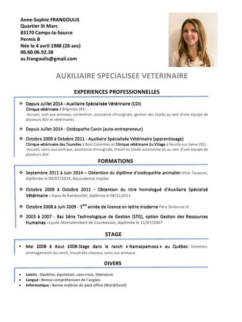 Entrepreneur Cv by Cv Frangoulis V1 Par As Fr Fichier Pdf