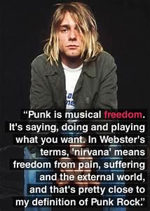 kurt cobain - D... Nirvana Friend Quotes