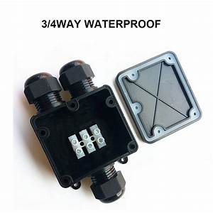 Waterproof Junction Box Case   Electrical Cable Wire