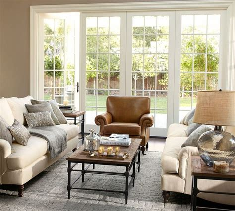 pottery barn style living room ideas pottery barn