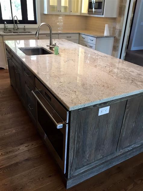 kitchen island countertop light granite river white granite kitchen island