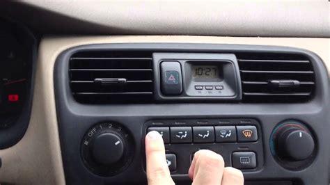 automobile air conditioning repair 1998 honda prelude free book repair manuals broken climate control youtube