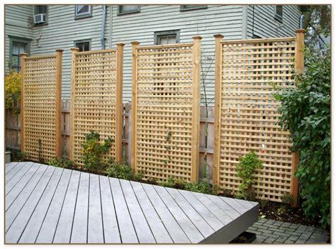lattice panels  privacy