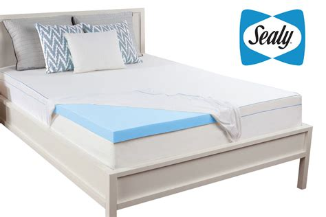 king memory foam mattress sealy 3 quot king memory foam mattress topper at gardner white