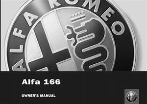Alfa Romeo 166 Owner Manual
