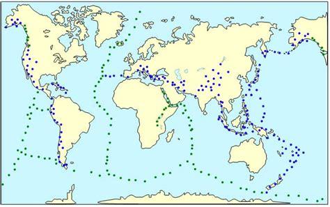Carte Des Volcans Actifs Dans Le Monde by La R 233 Partition Des S 233 Ismes Et Des Volcans Dans Le Monde