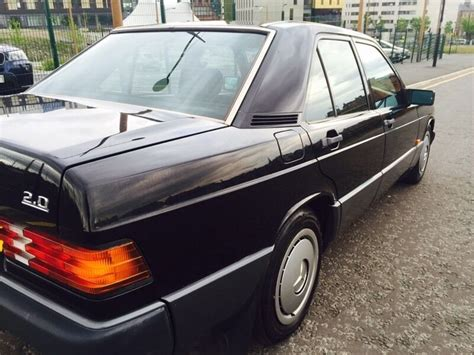 old car owners manuals 1992 mercedes benz w201 navigation system k 1992 black mercedes 190e 2 0 manual 190 classic retro in newcastle tyne and wear gumtree