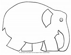 HD Wallpapers Elmer Elephant Coloring Page