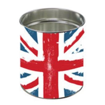 poubelle york chambre corbeille a papier drapeau anglais