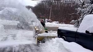 John Deere 855 With Snowblower