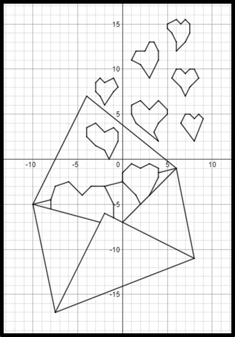 17 Best Images About Valentine's Day Coordinate Graphs On Pinterest  Valentines, My Heart And Keys