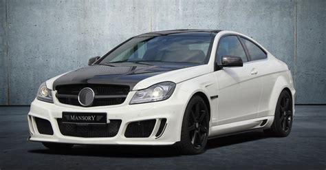 Modifikasi Mercedes C Class Coupe by Tuners Mansory Mercedes C Klasse Coupe Afbeeldingen