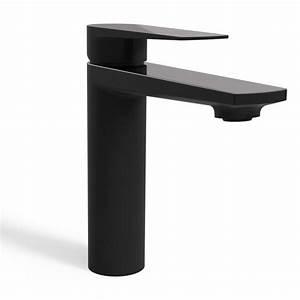 Mitigeur Noir Salle De Bain : alma robinet mitigeur lavabo noir mat chrome bonde ~ Edinachiropracticcenter.com Idées de Décoration