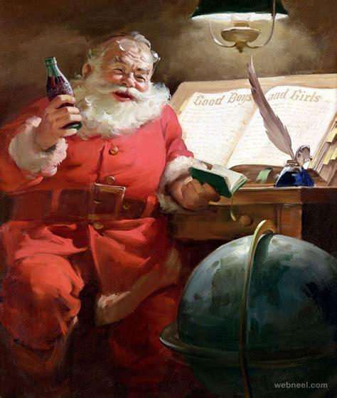 funny santa claus pictures coke