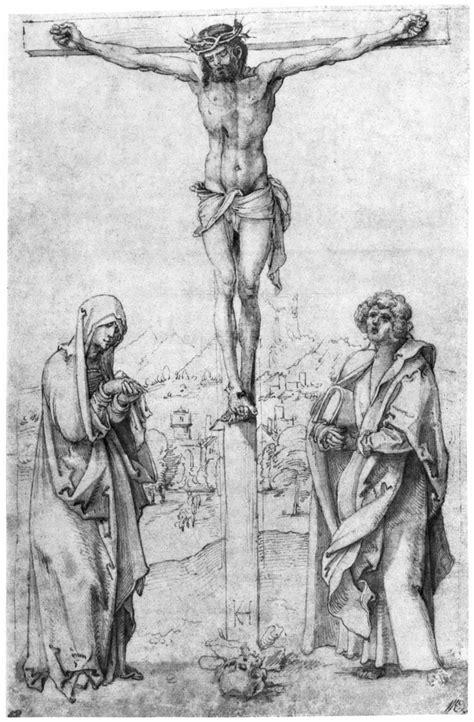 kulmbach hans suess von christus  kreuz mit maria und