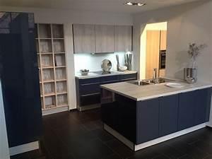 Kuche blau grau knutdcom for Küche blau grau