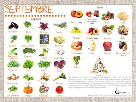 légumes de septembre saison fruits l 233 gumes septembre 2017 dieticook le