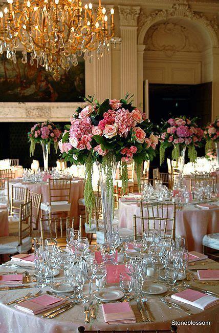Thin Vase Centerpiece Ideas by Vase Trumpet Centerpiece Event Ideas Wedding