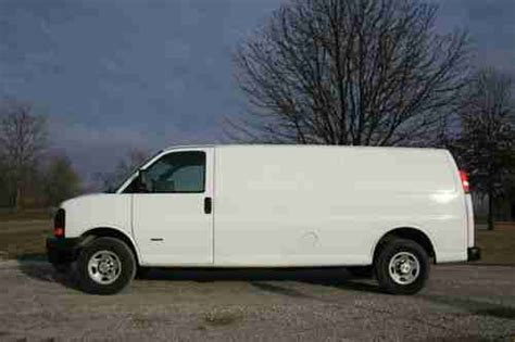 how it works cars 2009 chevrolet express 2500 on board diagnostic system buy used 2009 chevrolet express 3500 cargo work van 6 6l diesel in marine illinois united states